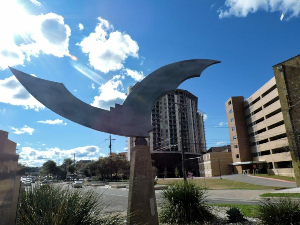 Bat monument Austin Texas