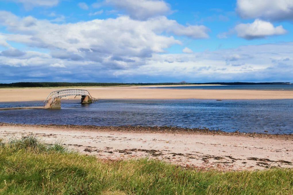 Belhaven Beach Dunbar Scotland