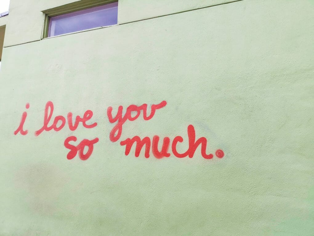 I love you so much Austin mural