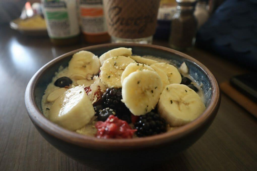 Snooze Cafe Porridge Oats Fruit Breakfast Brunch Austin