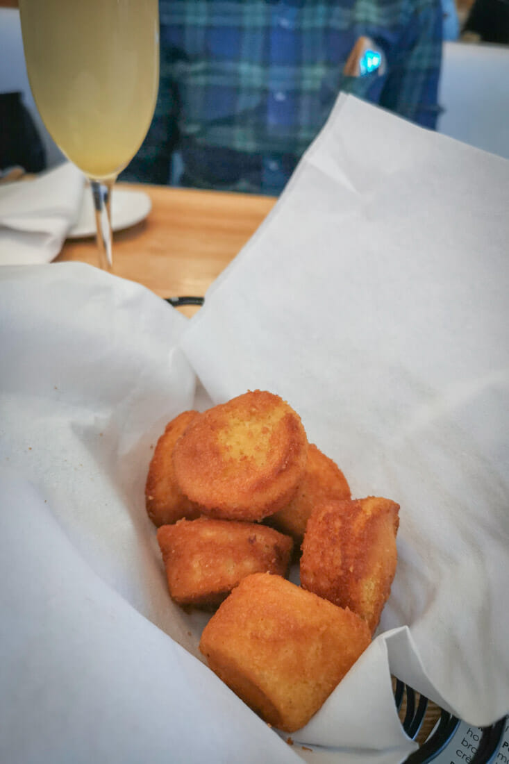 South Congress Cafe Austin Texas Biscuits Mimosa