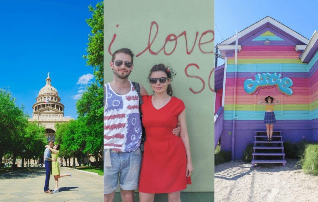 Take pictures in Austin. Instagram Spots