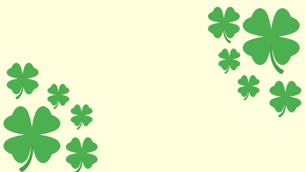 4 Leaf Clover Background