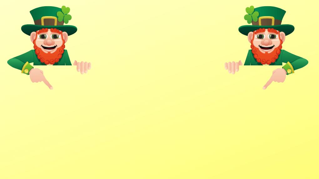 Leprechaun background