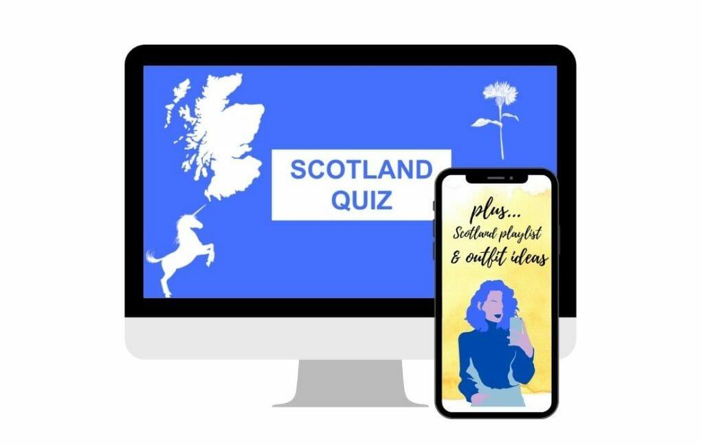 Scotland Quiz Front Cover