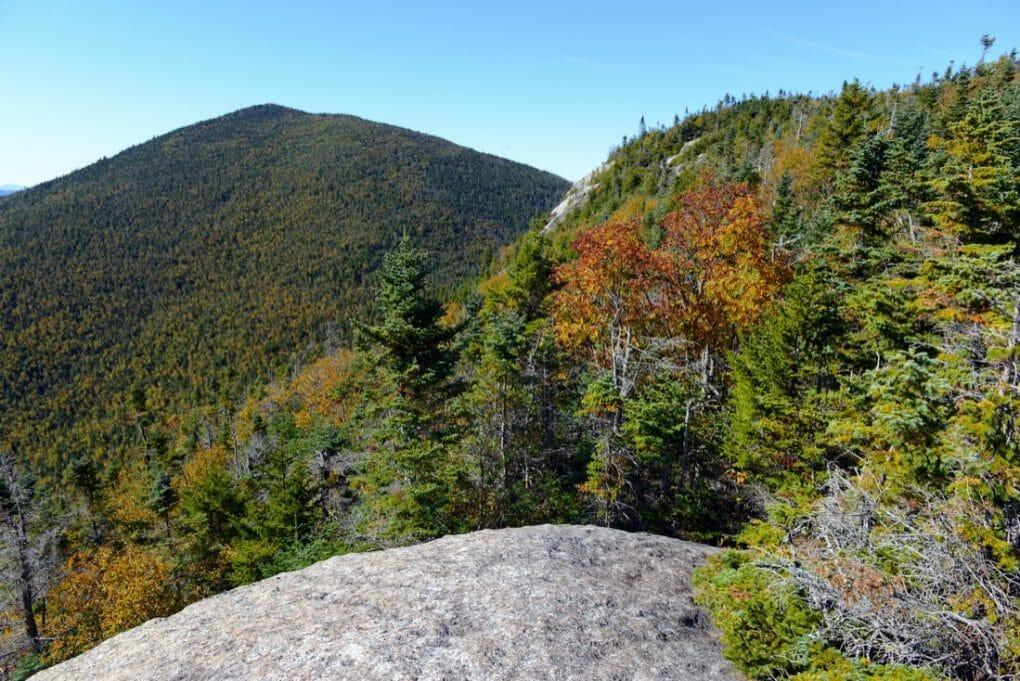 Alpine scene in the Adirondacks Mountains, New York