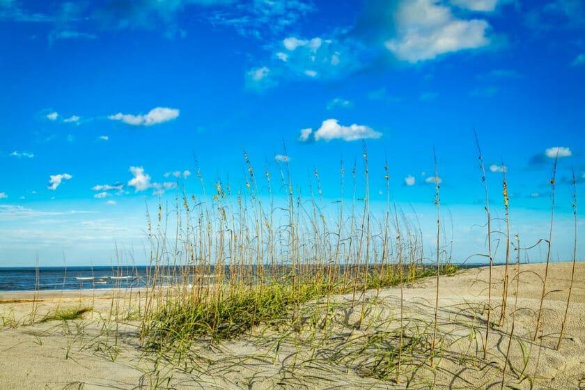 Amelia Island near Fernandina Beach, Florida.