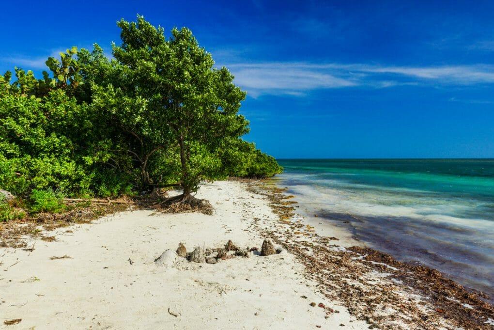 Boca Chita Key in Biscayne National Park in Florida