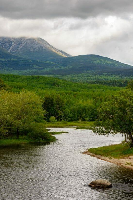 Maine North Woods, Mount Katahdin