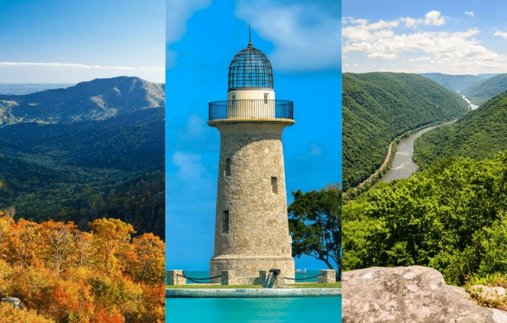 National Parks in the East Coast
