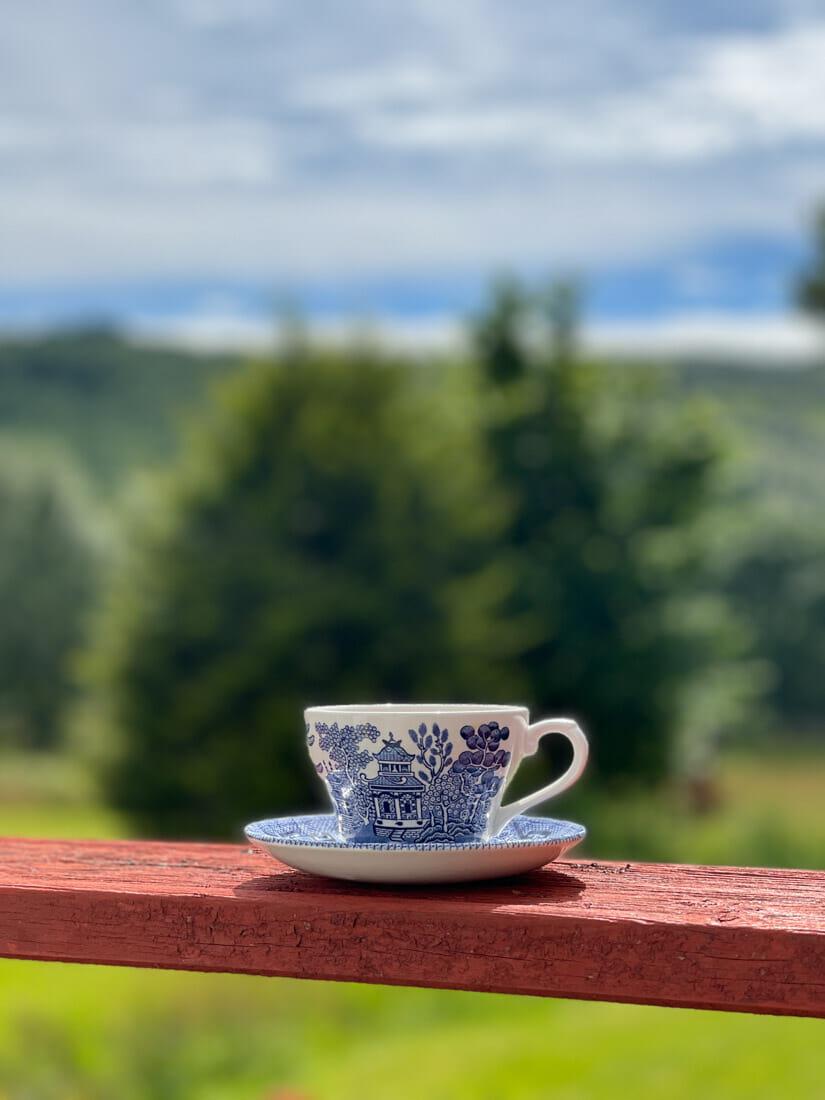 Ariundle Centre Cafe Tea Ardnamurchan, Scotland