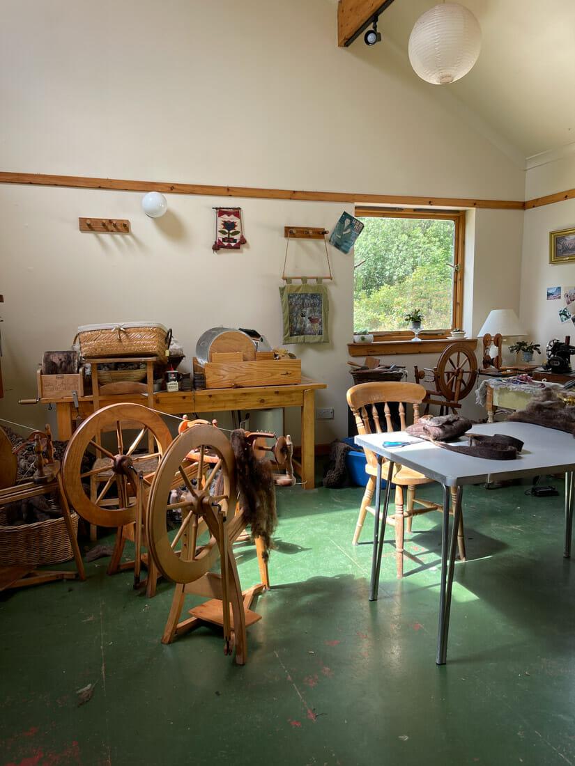 Ariundle Centre Wool Shop Ardnamurchan, Scotland