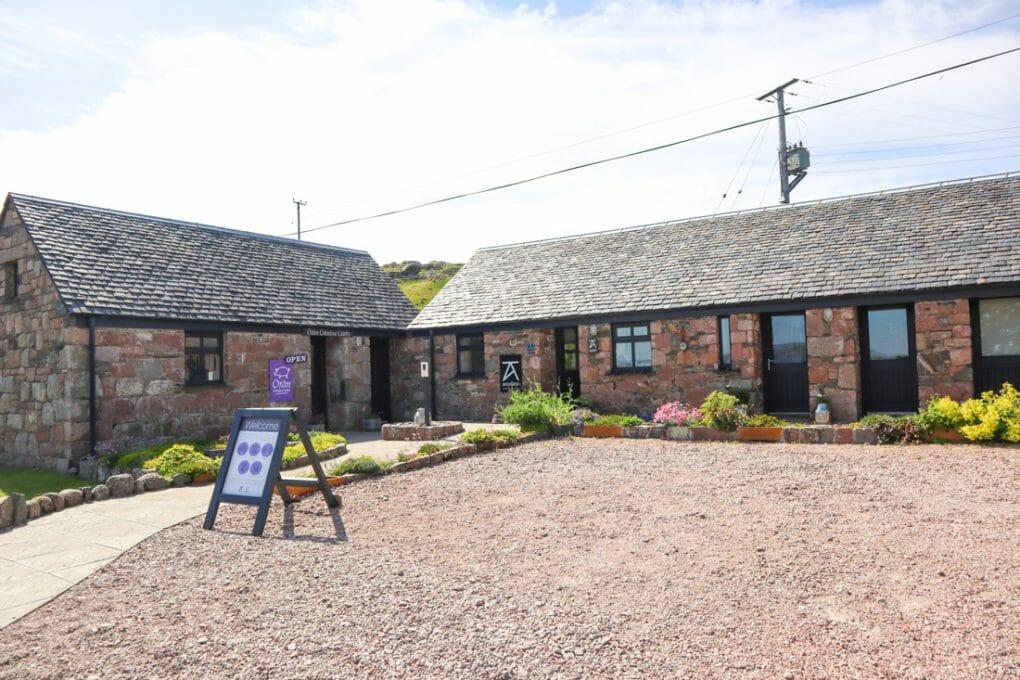 Art Craft Shops Iona Abbey Scotland