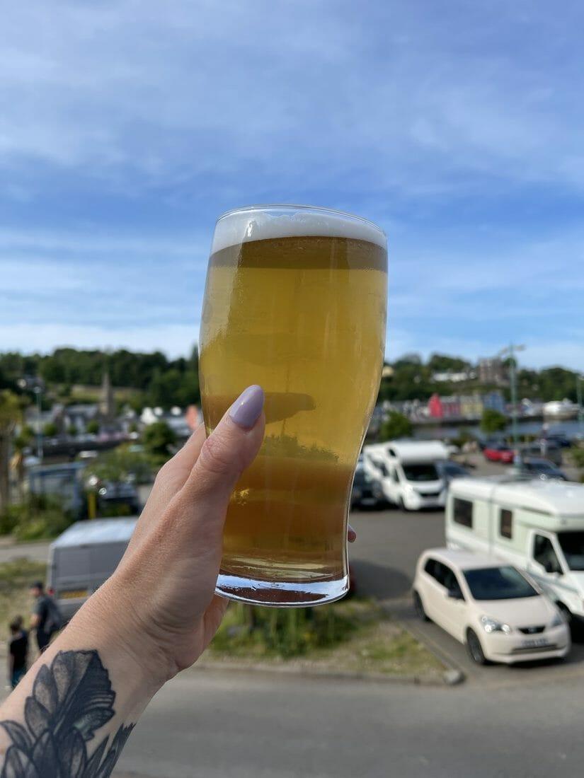 Beer Tobermory Macgochan's Mull Scotland
