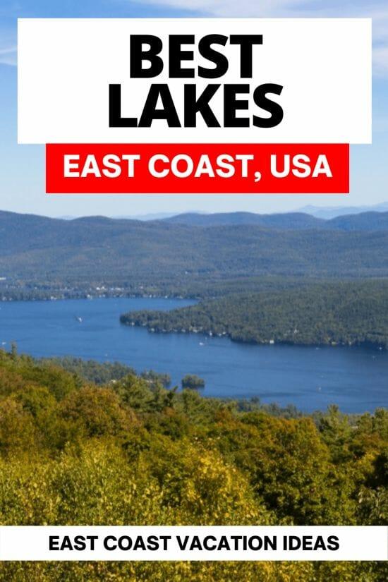 Best East Coast Lakes