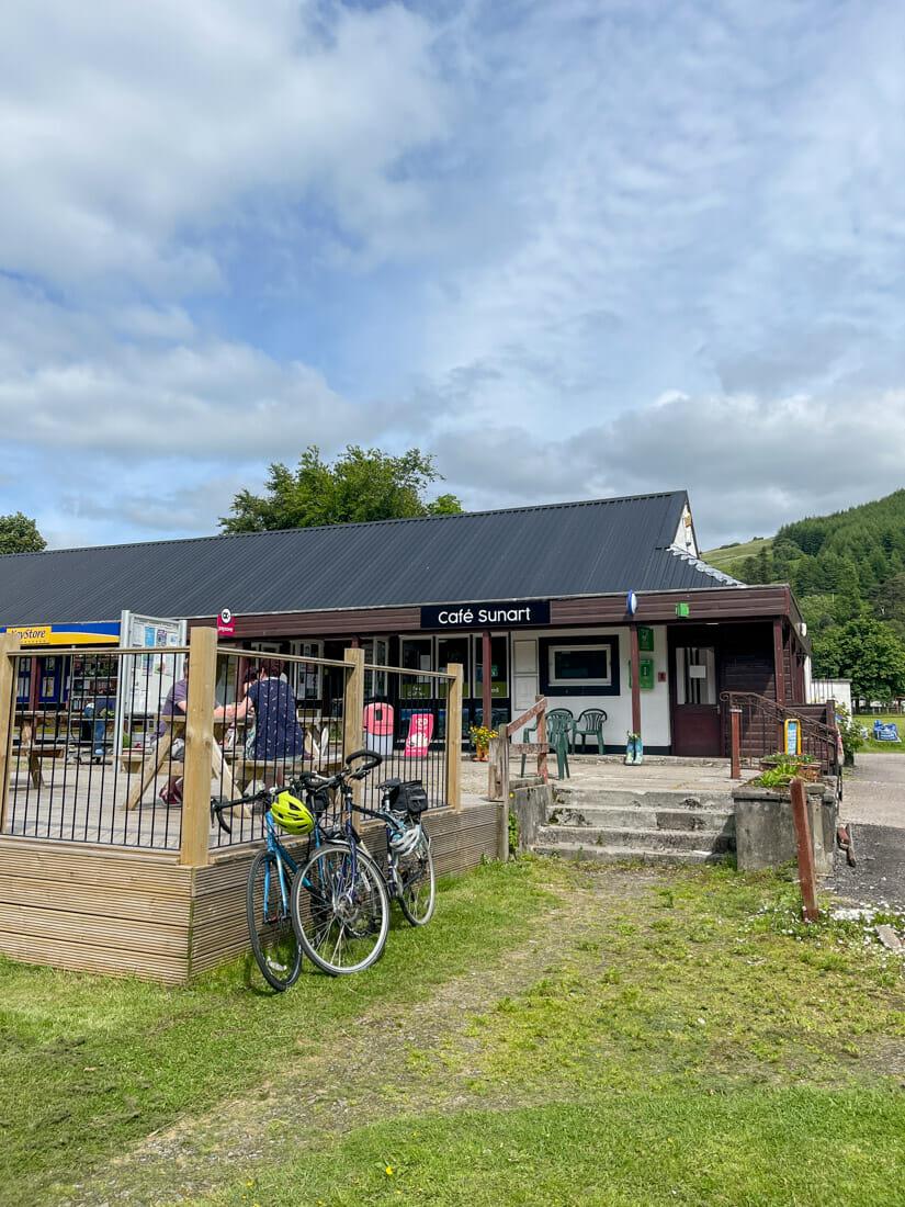 Cafe Sunart Ardnamurchan in Scotland