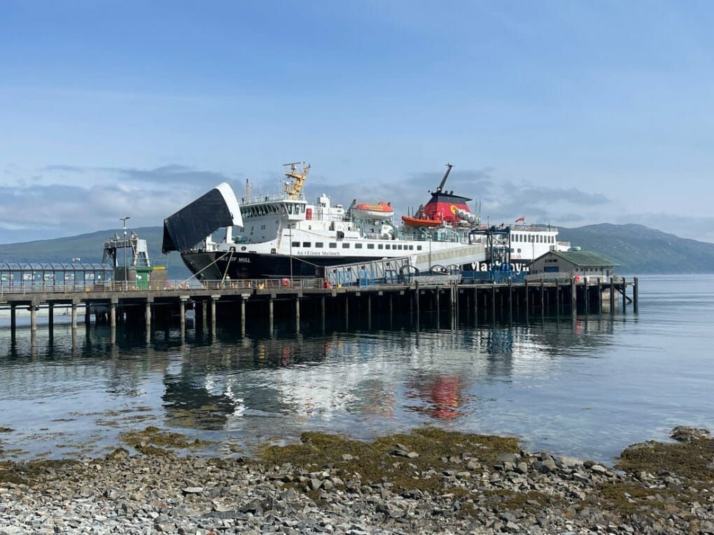 CalMac Ferry Craignure Mull Scotland