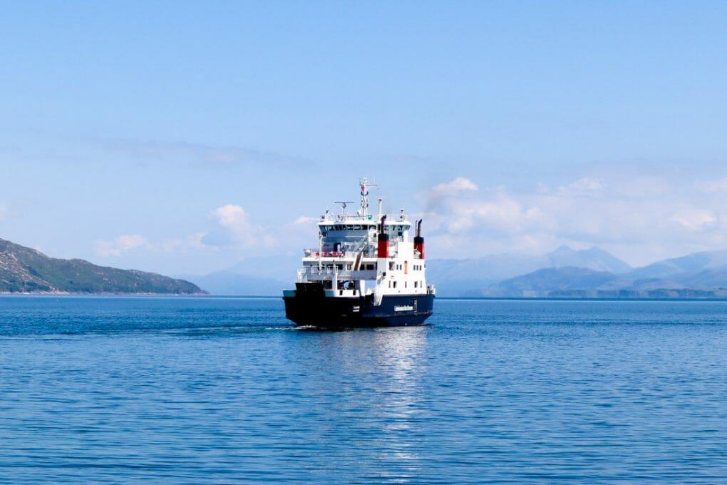 CalMac Ferry Sea Mull Scotland