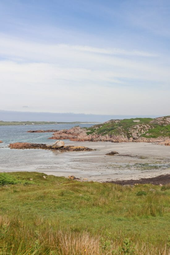Fionnphort Beach Mull Scotland
