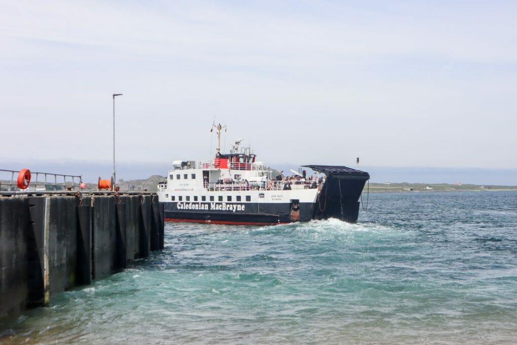 Fionnphort Ferry Port CalMac Mull Scotland