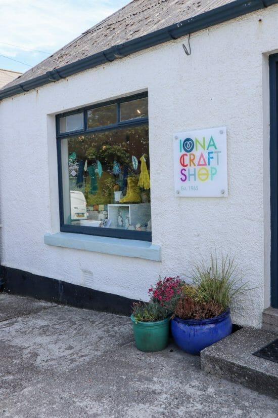 Iona Craft Shop Scotland