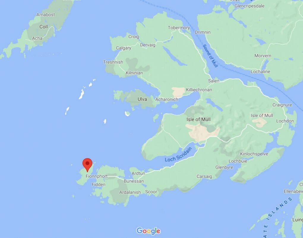 Iona Map