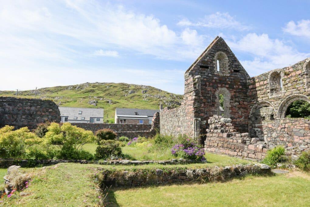 Iona Monastery Hill Scotland