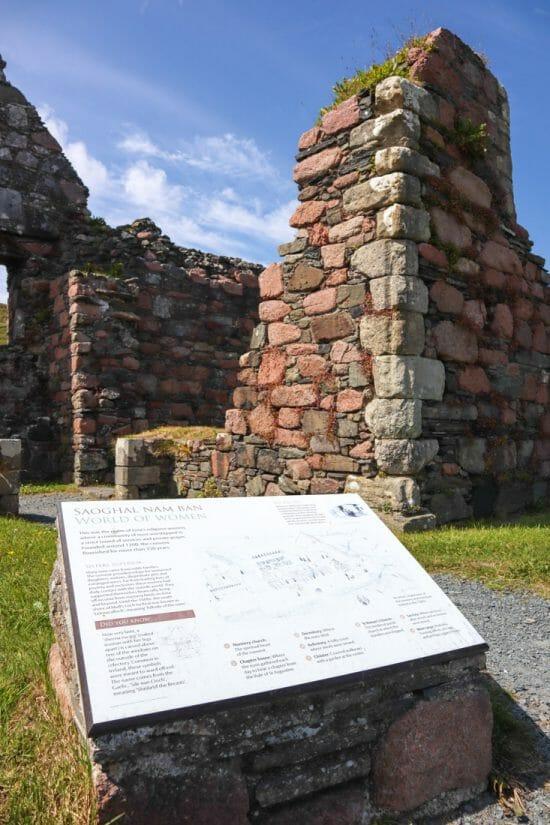 Iona Monastery in Scotland