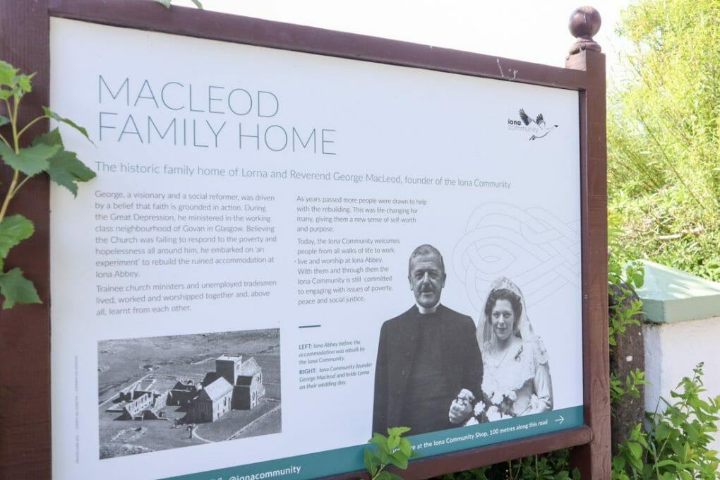 MacLeod Family Home Iona Scotland