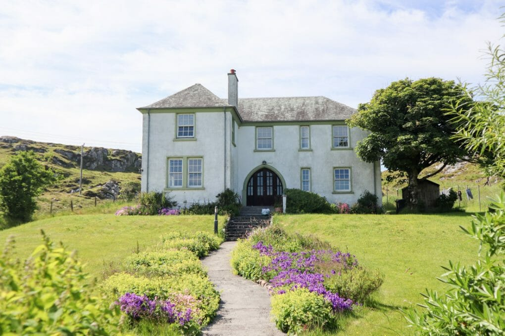 MacLeod Family Home on Iona Scotland
