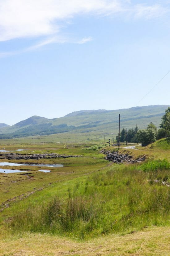 Pennyghael Road Mull Scotland