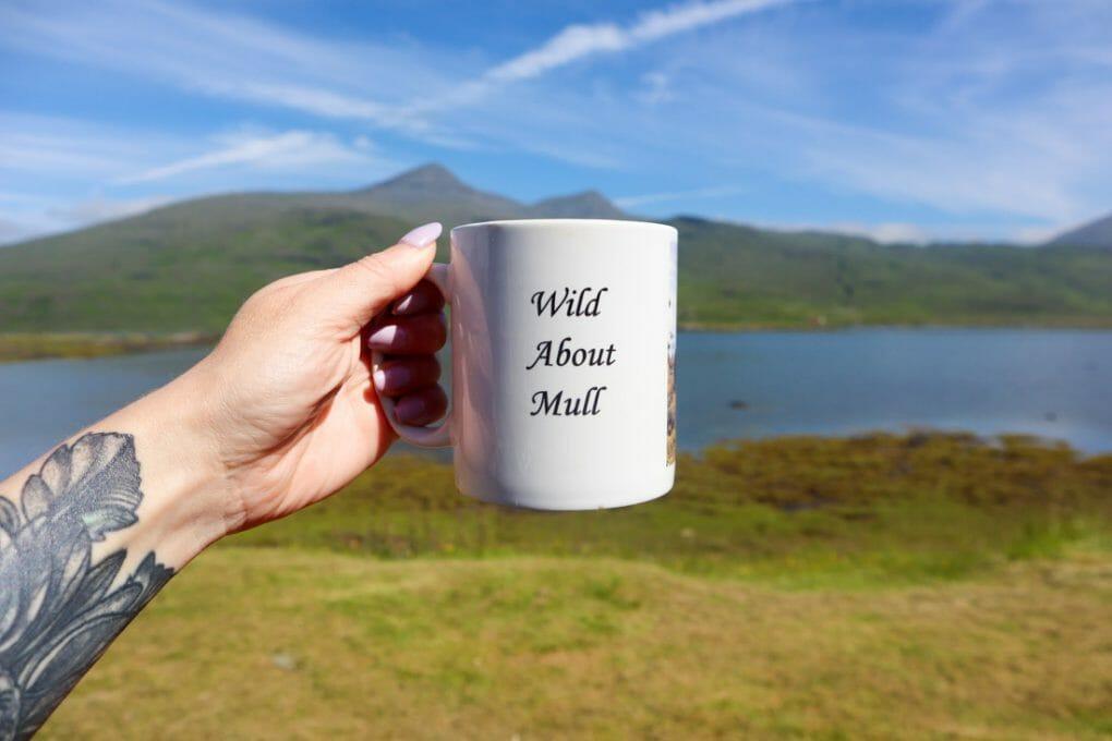 Pennyghael Stores Mug Mull Scotland