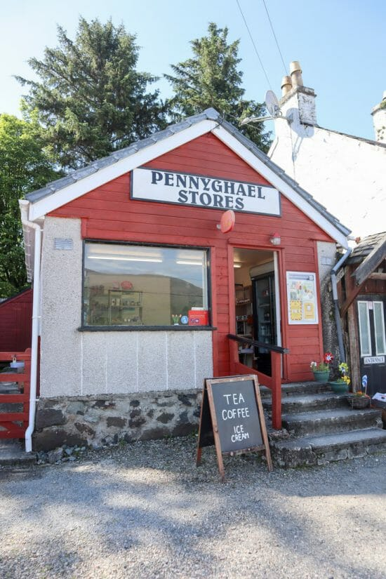 Pennyghael Stores Mull Scotland