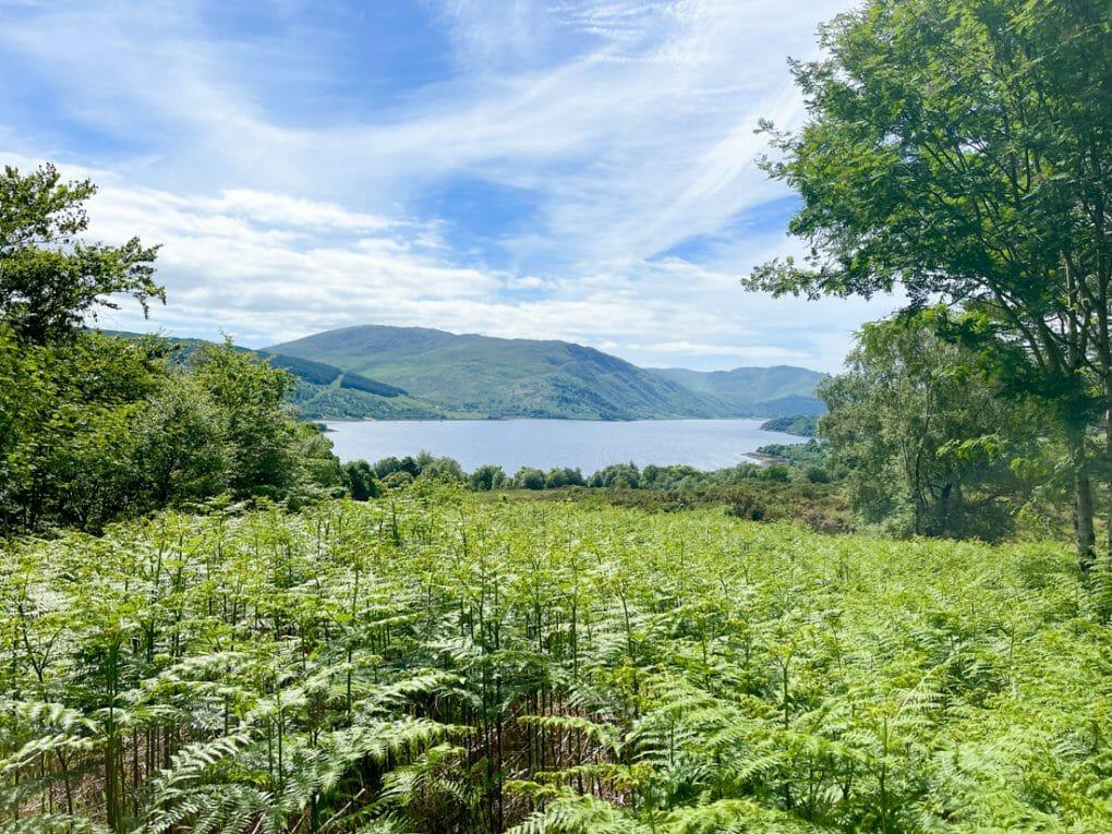 Phemies Walk Viewpoint Ardnamurchan in Scotland