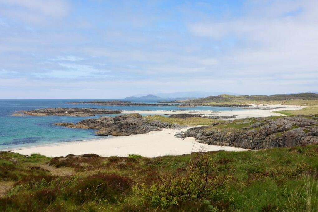 Sanna Bay Ardnamurchan, Scotland Blue Skies