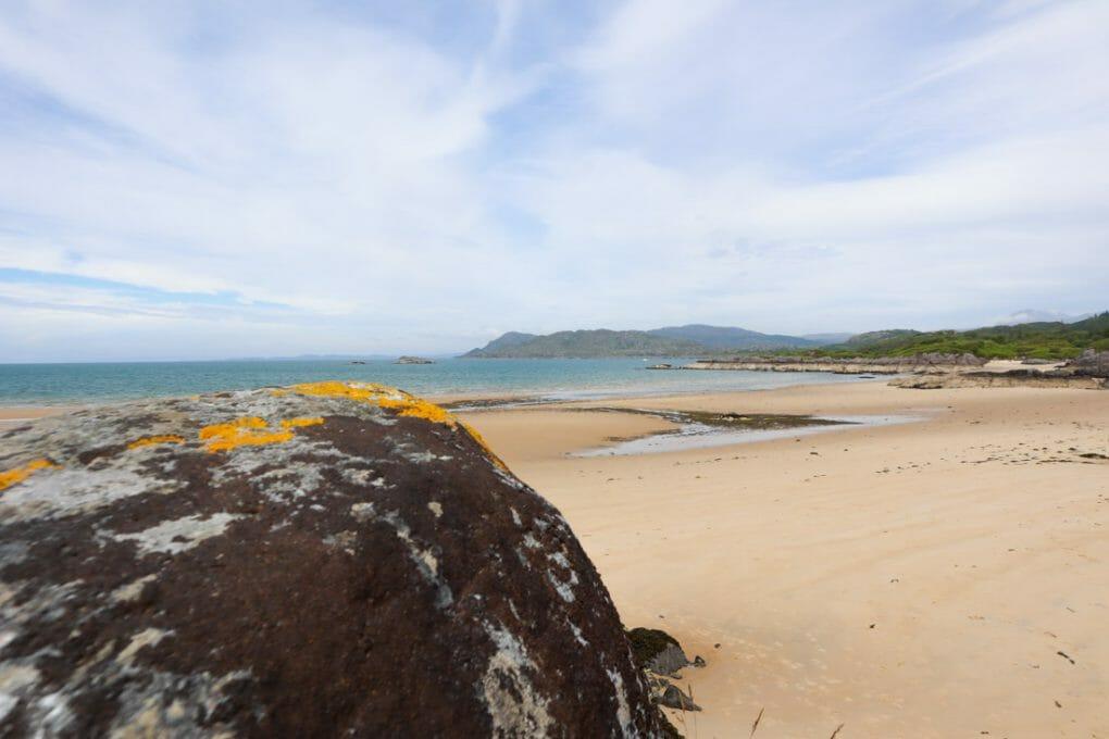 Singing Sands, Ardnamurchan in Scotland