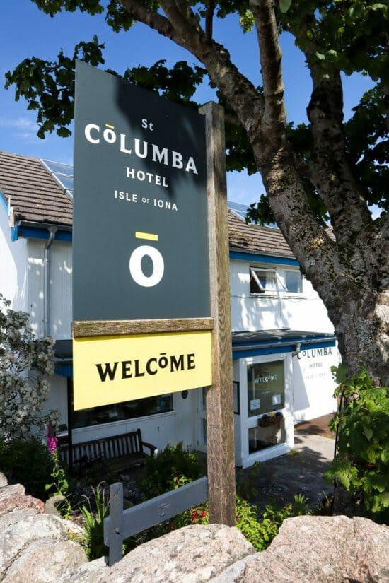 St Columba Iona Scotland