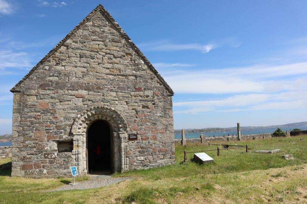 St Oban Chapel Iona Scotland
