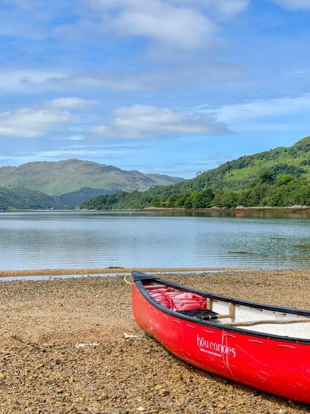Strontian Canoe Tour Ardnamurchan Scotland