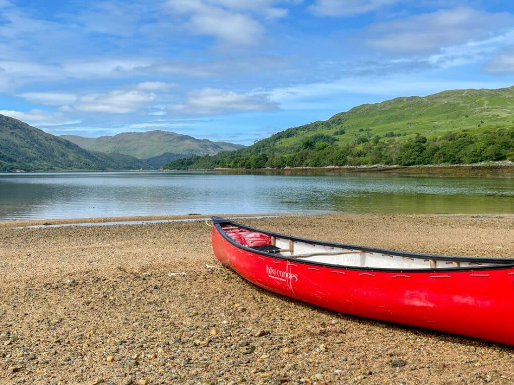 Strontian Canoe Tour Ardnamurchan in Scotland