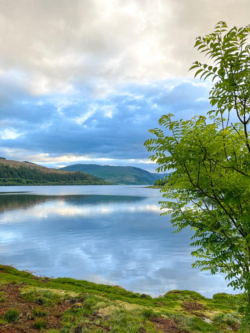 Strontian Landscape Ardnamurchan Scotland