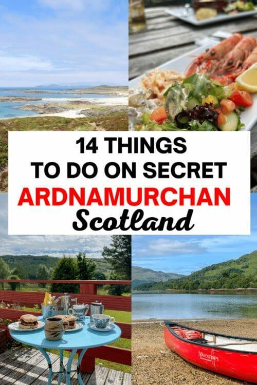 Things to do in Ardnamurchan Scotland