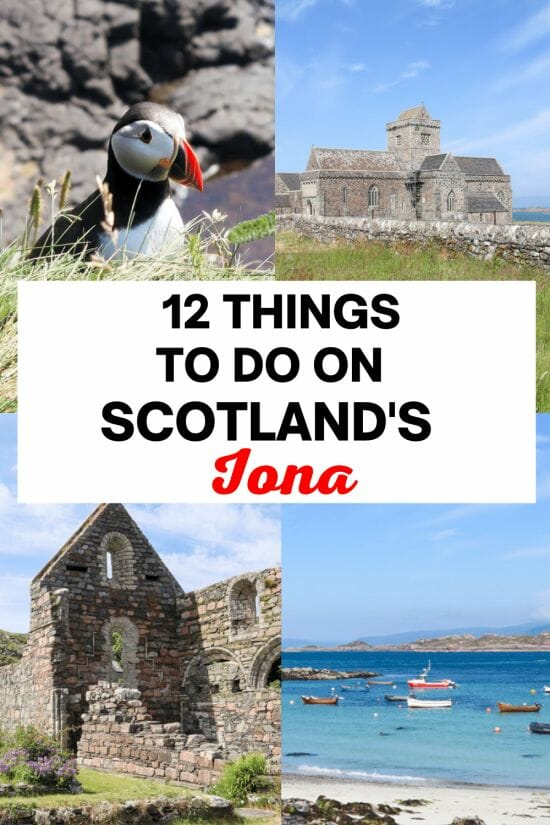Things to do in Iona Scotland