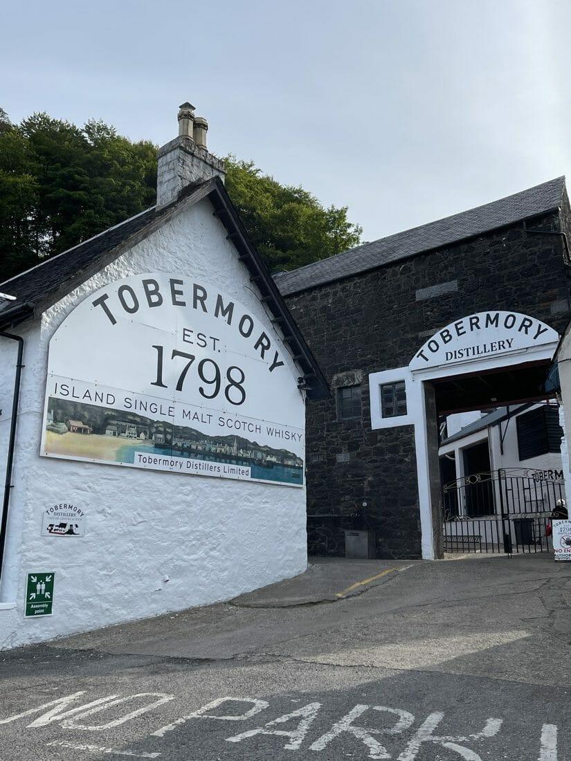 Tobermory Distillery Mull Scotland