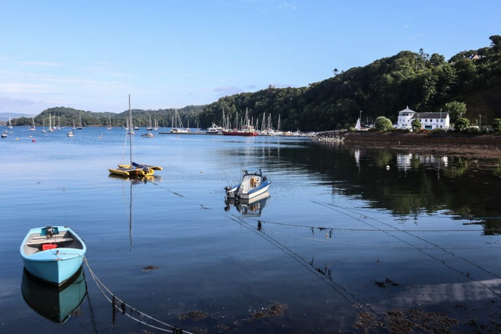 Tobermory Mull Harbour in Scotland