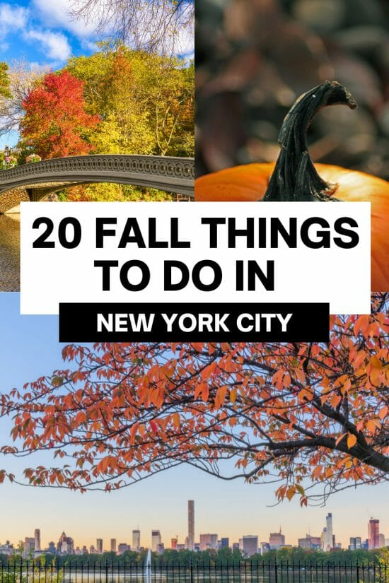 Things to do in NYC in Fall