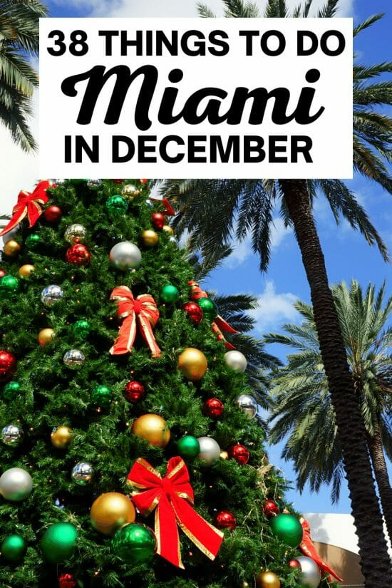 Christmas in Miami-December